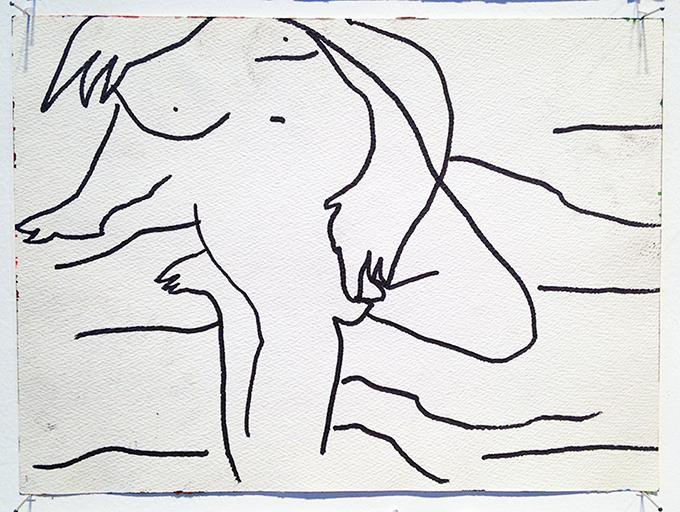 Girl fingering on the beach pt 1