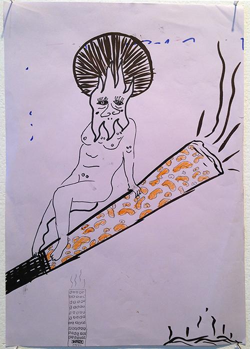 Smoke & Work (collab. with Iris van Santen)